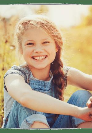 Smiling Girl Photo at Cedarbaum Orthodontics in Flemington NJ