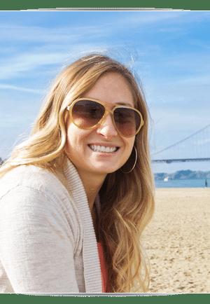 Woman on Beach Photo at Cedarbaum Orthodontics in Flemington NJ