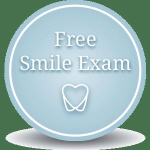 Free Smile Exam Button at Cedarbaum Orthodontics in Flemington NJ