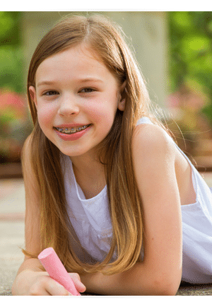 Young Girl Photo at Cedarbaum Orthodontics in Flemington NJ